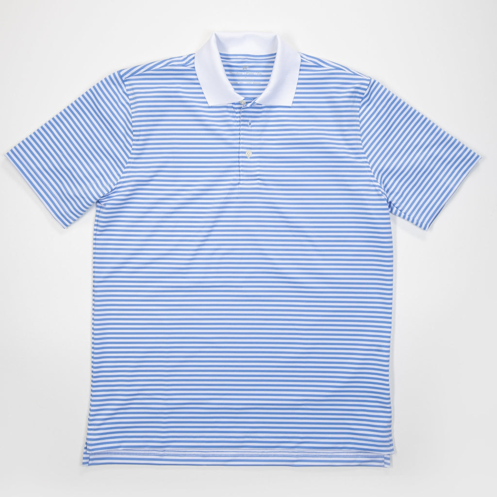 Performance Polo- Cornflower Blue