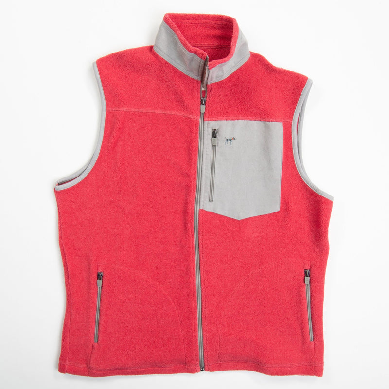 Youth Crimson Bennington Vest
