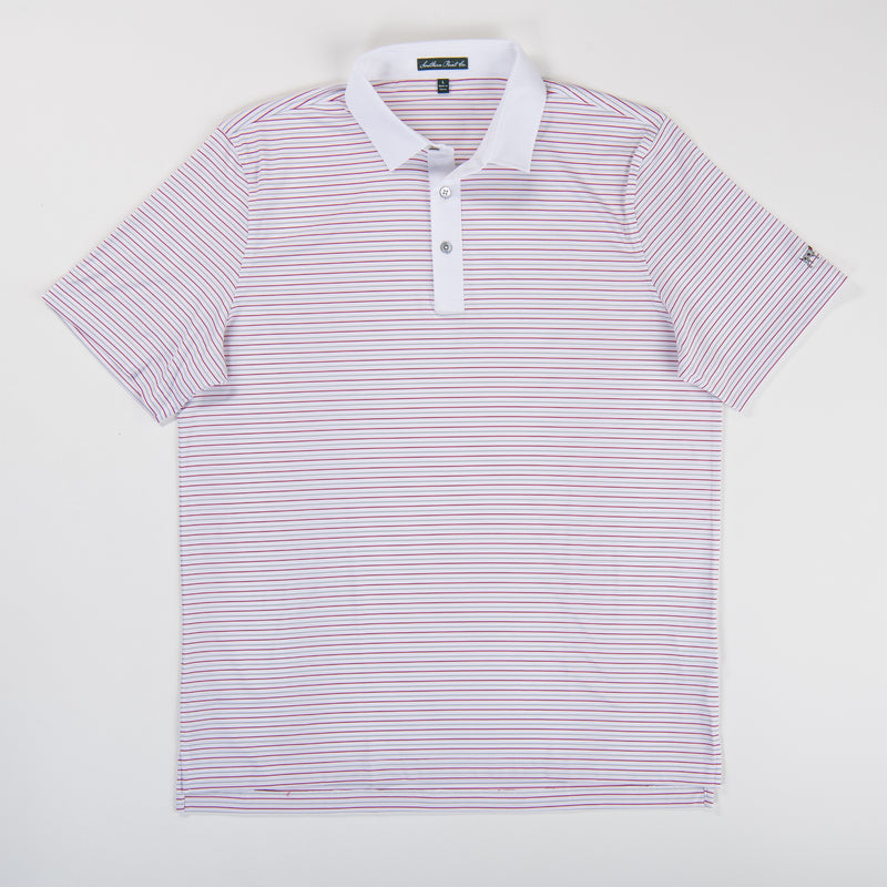Youth Performance Polo - Crimson