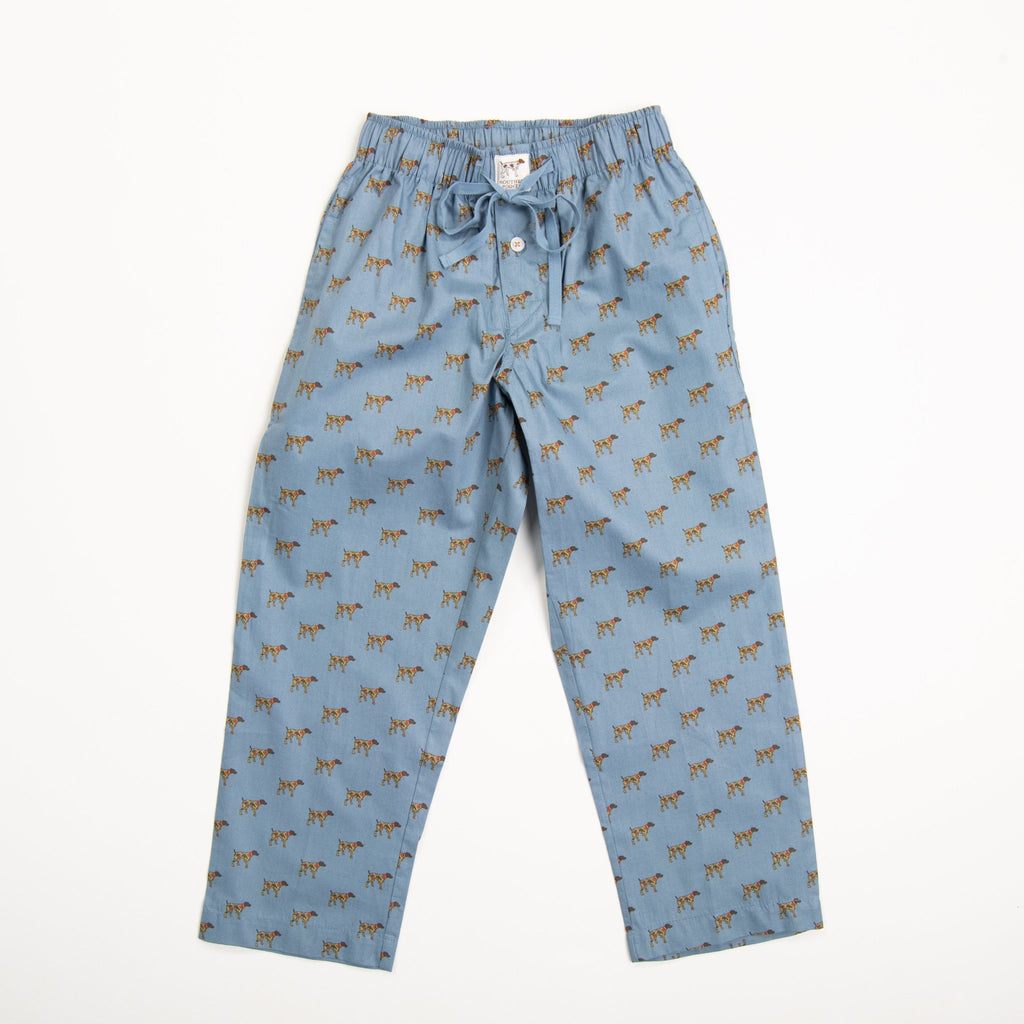 Blue Camo Dog Lounge Pants