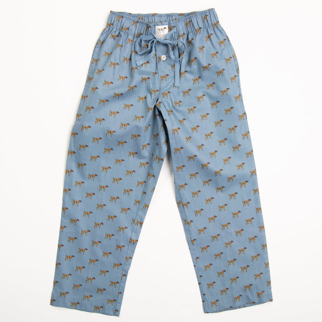 Youth Blue Camo Dog Lounge Pants