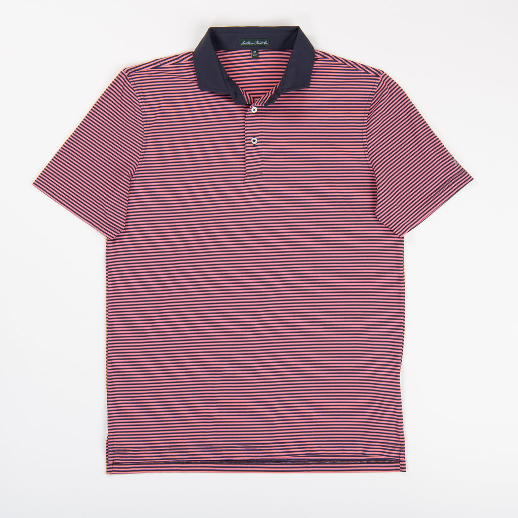 Youth Performance Polo - Fusion Coral