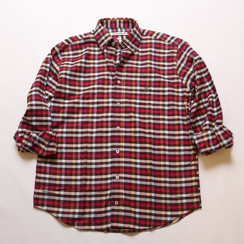 Vibrant Check Flannel
