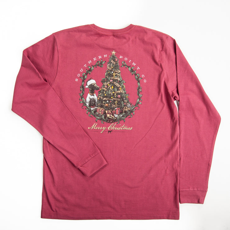 Youth Holiday Tree Tee