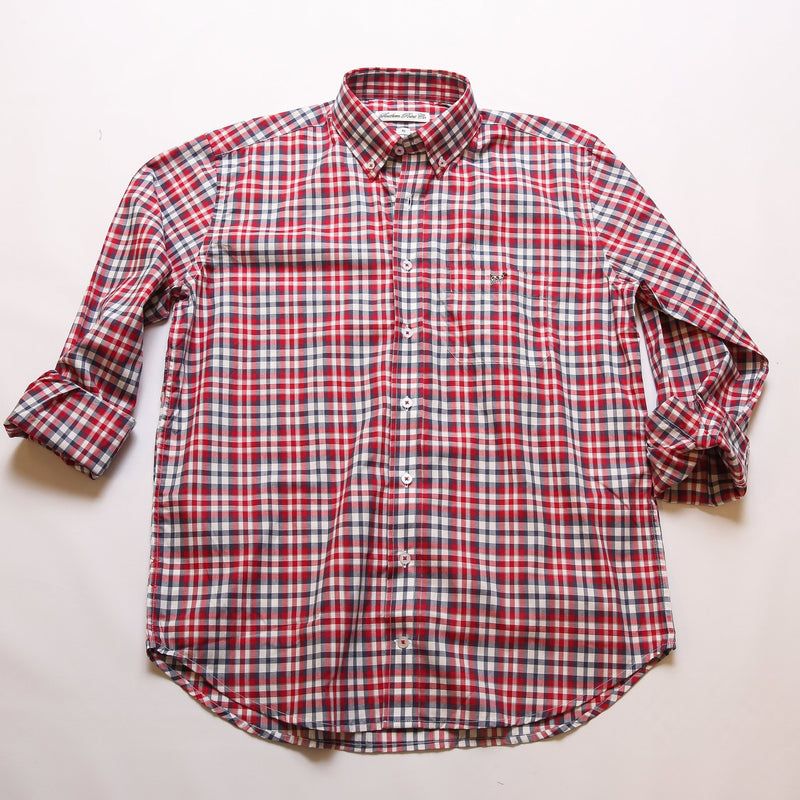 Youth Roaring Red Check