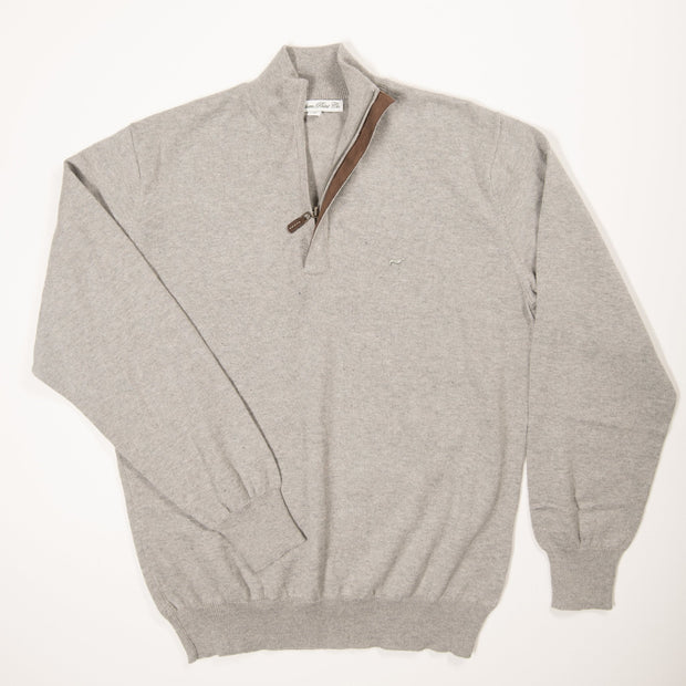 Light Grey Hayward Quarter Zip