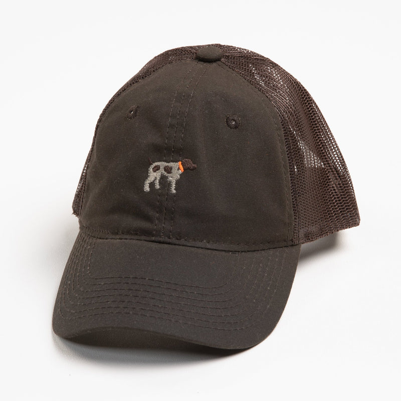 Chocolate Waxed Trucker