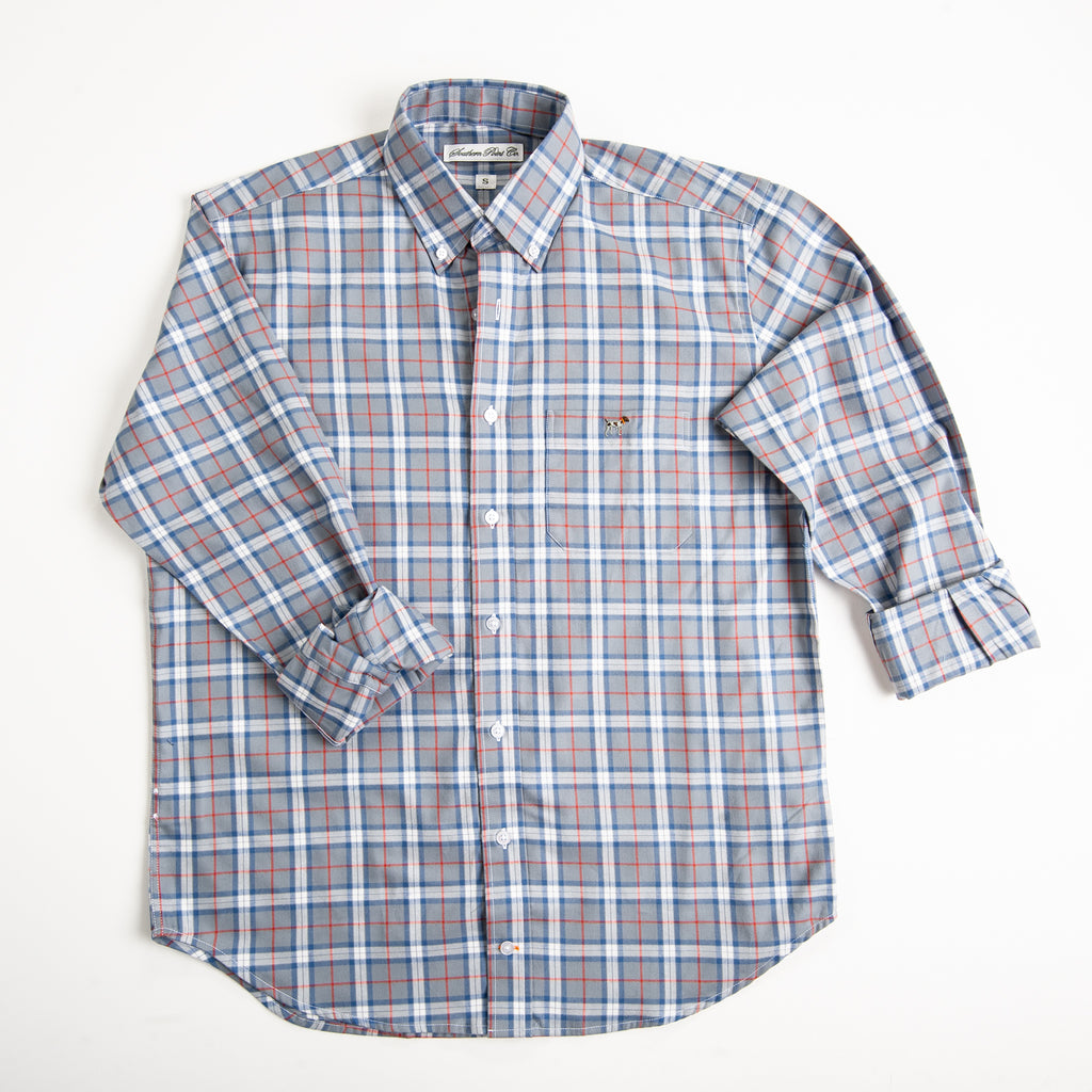 Graphite Plaid