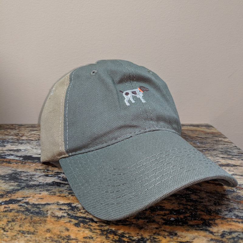 Two Tone Canvas Hat