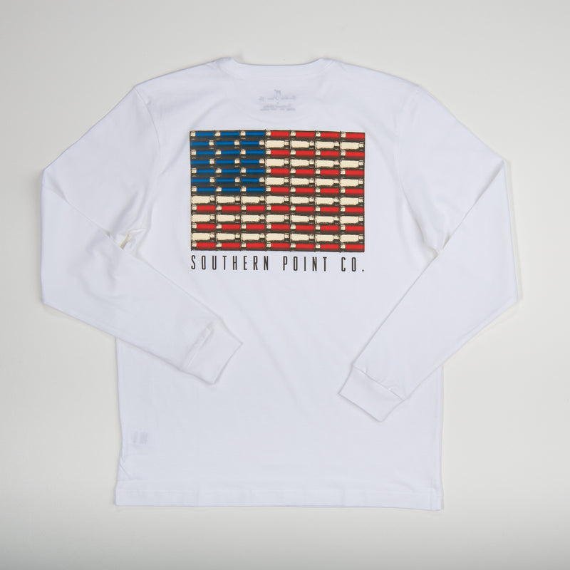 Limited Shotgun Shell American Flag