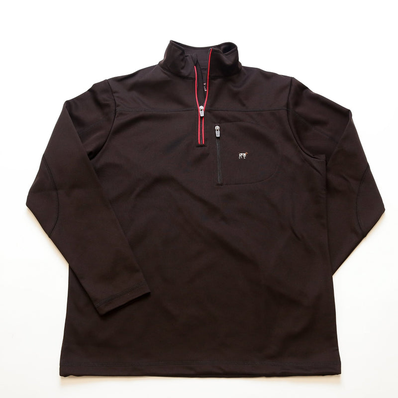 Black/Red Tradition Tech Pullover