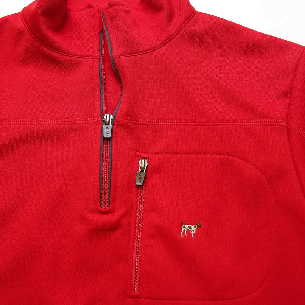 Red/Grey Tradition Tech Pullover