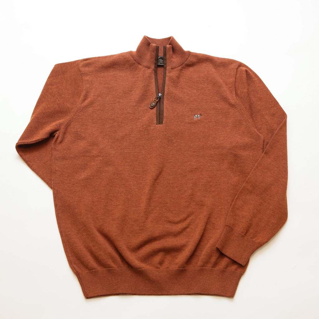 Orange Hayward Quarter Zip
