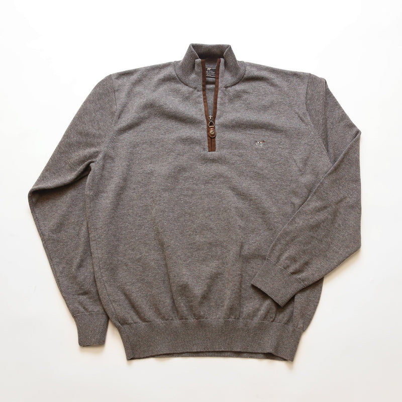 Grey Hayward Quarter Zip