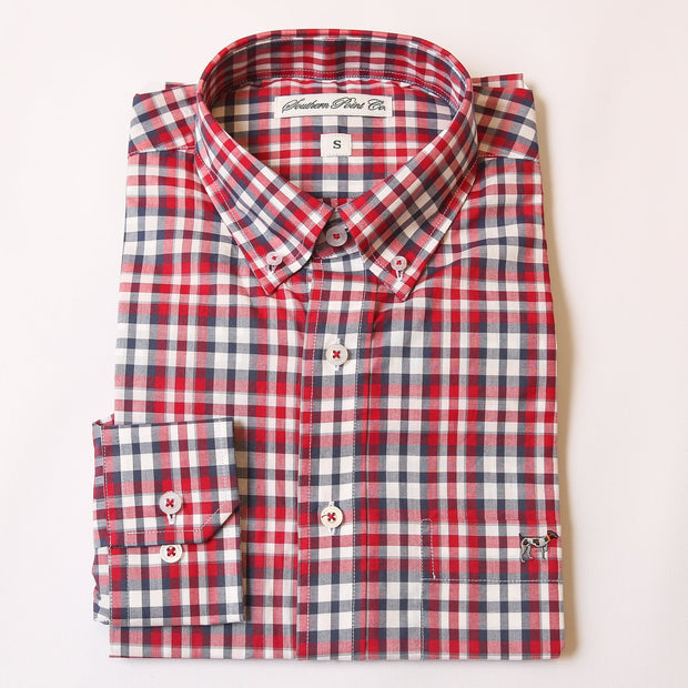 Roaring Red Check