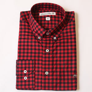 Red & Black Tradition Button Down