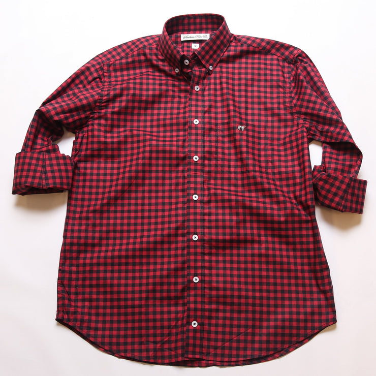 Garnet & Black Tradition Button Down
