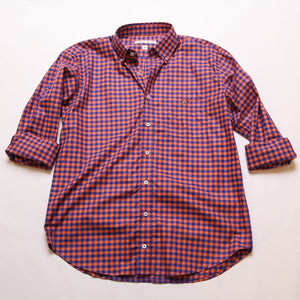 Purple & Orange Tradition Button Down