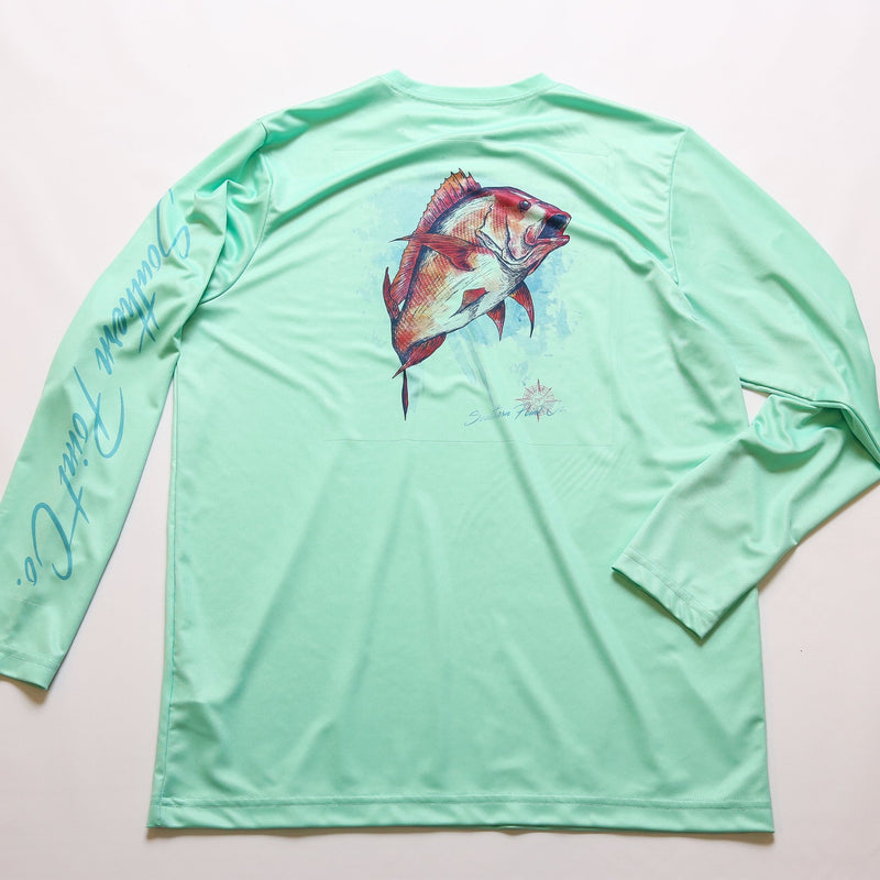 Red Snapper Dry Fit UPF Tee