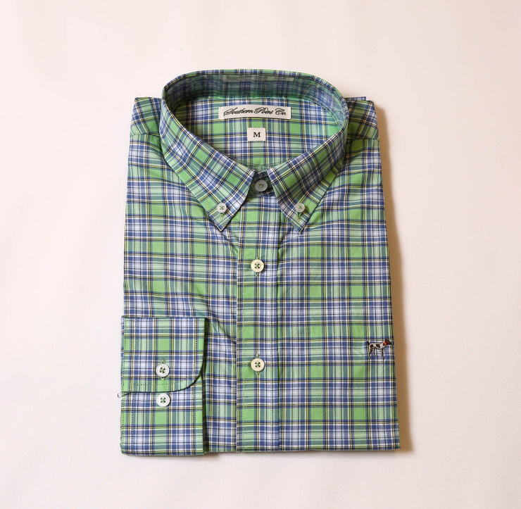 Keylime & Marina Plaid