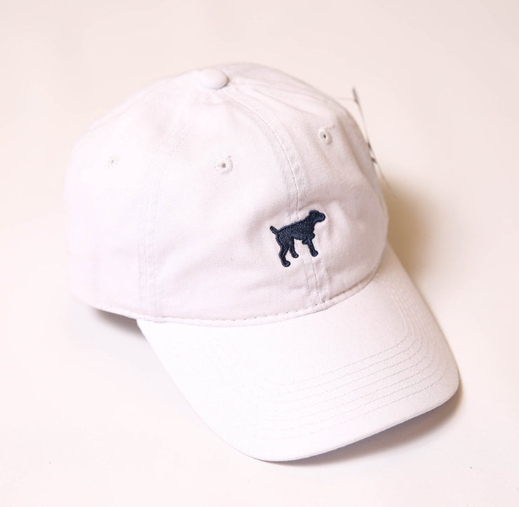 White Tonal Hat