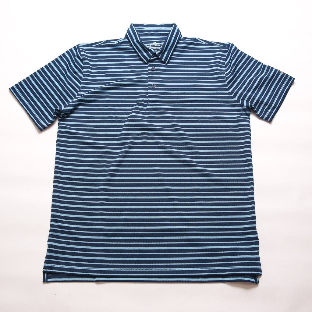 Youth Fairway Stripe - Ink/Sky