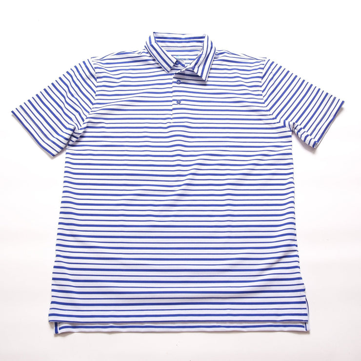 Fairway Stripe - White/Royal