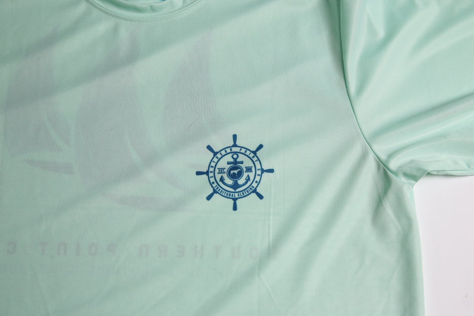 Sailboat Dry Fit UPF Tee
