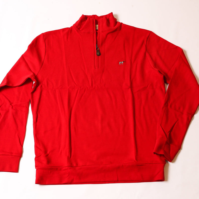 Red Charleston Zip