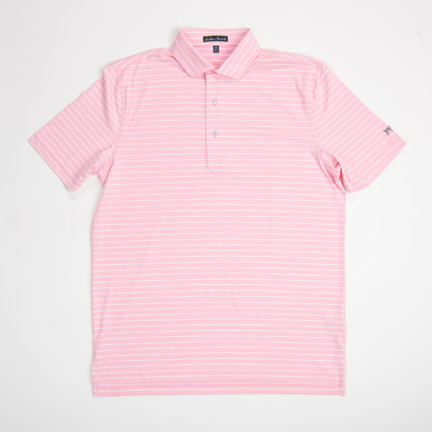 Youth Sea Pink Performance Polo