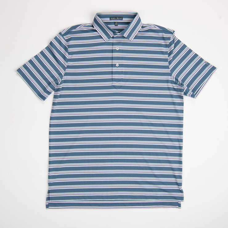Youth Real Teal Performance Polo
