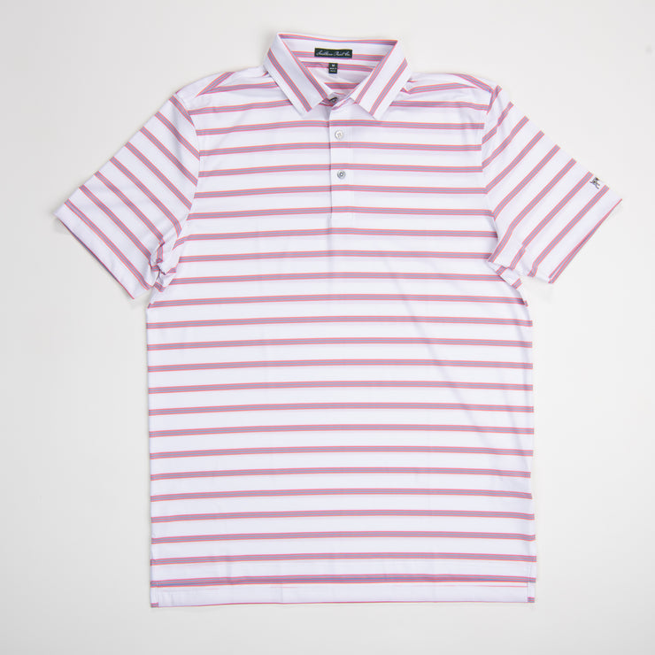 Youth Georgia Peach Performance Polo