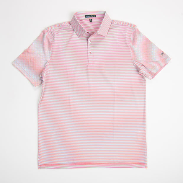 Youth Shell Pink Performance Polo