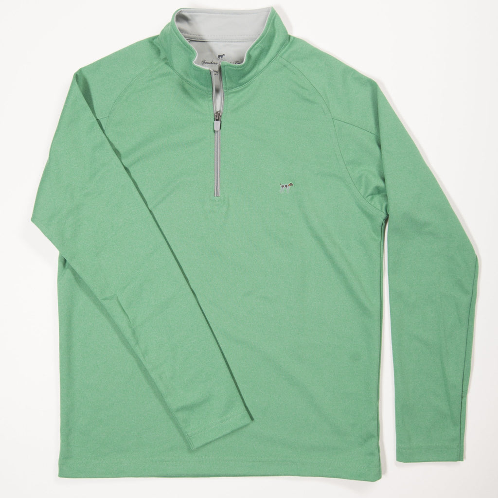 Youth Green Wellington Pullover