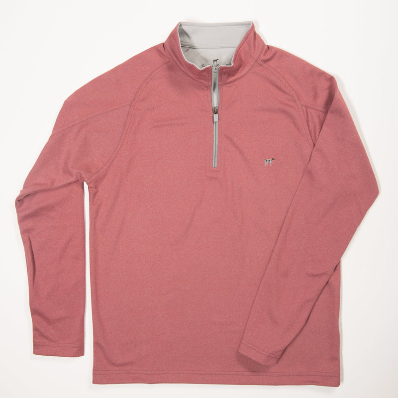 Red Wellington Pullover