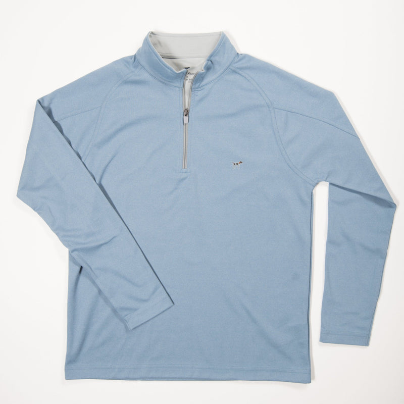 Blue Wellington Pullover