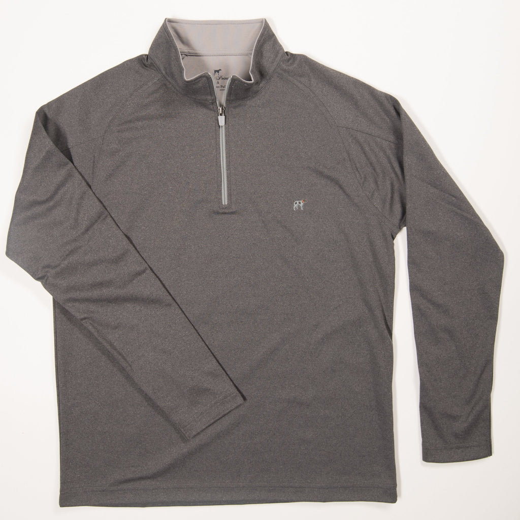 Youth Grey Wellington Pullover