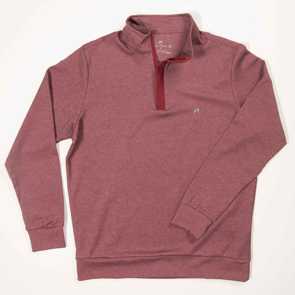 Wine Waverly Pullover
