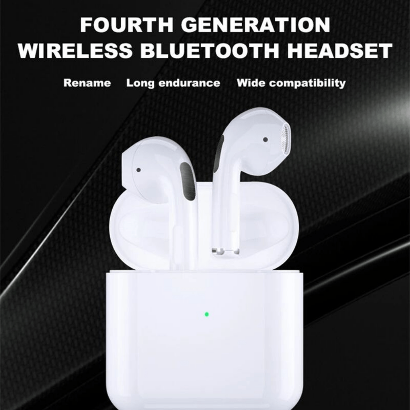 Mini Pro 4 TWS Wireless Bluetooth Earbuds - Dmg Electronics