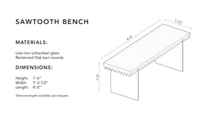 Sawtooth Bench