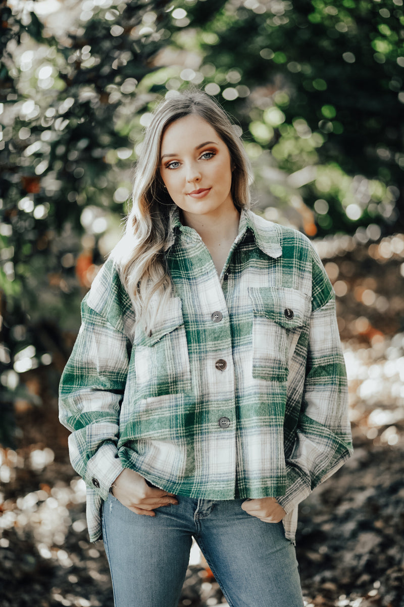 Fallin' For You Flannel