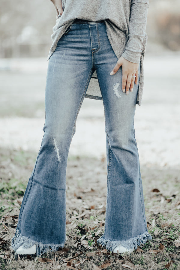 Stay n' Fray Bell Bottoms