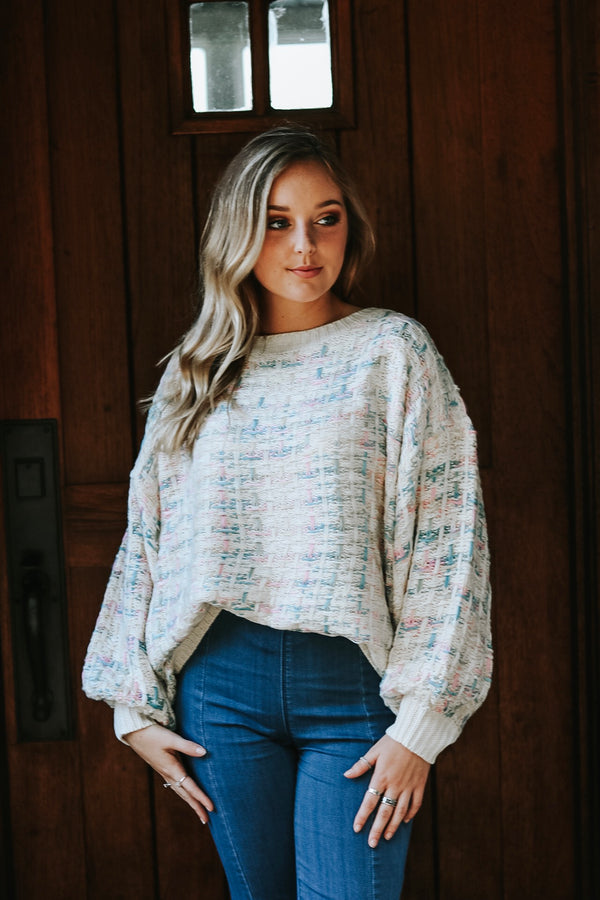 Candy Cloud Sweater