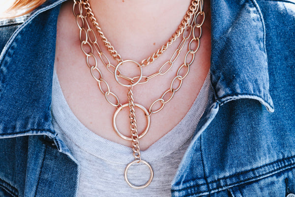 Lola Link Layered Necklace