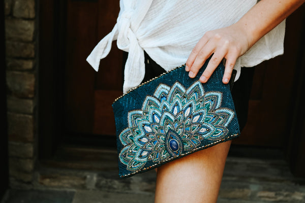 Passion Peacock Crossbody Purse