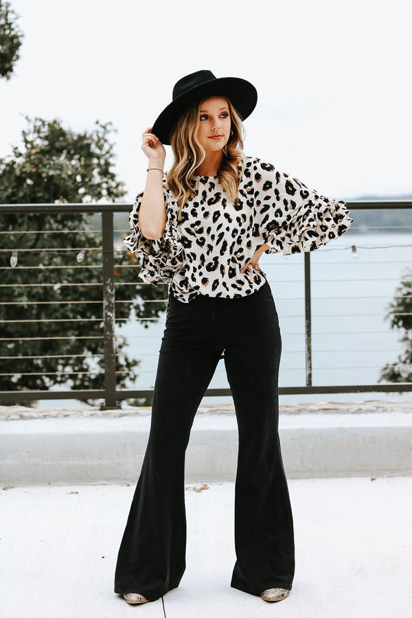 Cheetah Chic Top