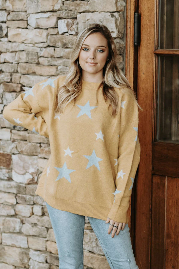 Sweeter In Stars Sweater