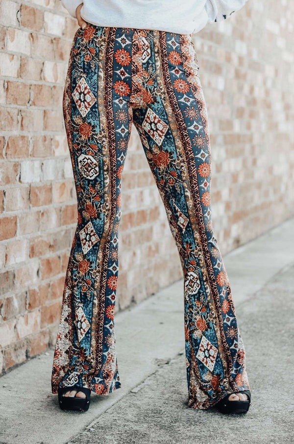 Boho Bailey Bell Bottoms