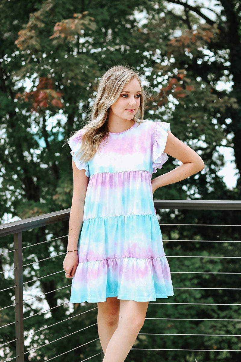 Baby Doll Tie Dye Dress