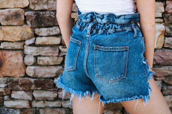 Distressed Vintage Shorts
